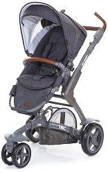 Бебешка количка 2 в 1 - 3-Tec Style: Street - С 3 колела -