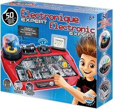 """Експерт по електричество - Образователен комплект от серията """"Експерименти"""" - образователен комплект"""