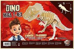 Сглоби скелет на динозавър - Торанозавър Рекс - образователен комплект