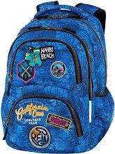 Ученическа раница - Dart: Badges G'Blue -