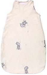 """Лятно бебешко спално чувалче - С дължина 80 или 100 cm от серията """"Happy Hippo""""  - продукт"""