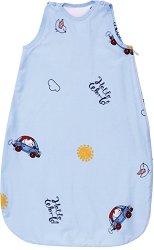 Лятно бебешко спално чувалче - Bear and Car - С дължина 80 или 100 cm - продукт