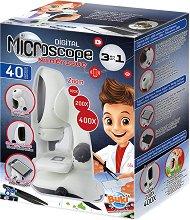 """Детски дигитален микроскоп 3 в 1 - Образователен комплект от серията """"Mini Sciences"""" - образователен комплект"""
