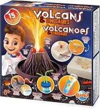 """Вулкани и динозаври - Образователен комплект от серията """"Научни експерименти"""" - играчка"""