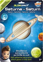 """Фосфоресцираща планета - Сатурн - От серията """"Космос"""" - играчка"""