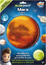 """Фосфоресцираща планета - Марс - От серията """"Космос"""" - играчка"""