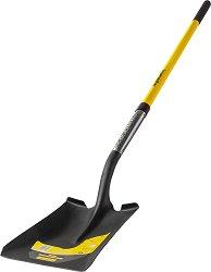 Квадратна лопата с дръжка от фибростъкло