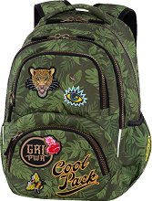 Ученическа раница - Dart: Badges G'Green - детски аксесоар