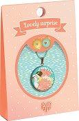 "Медальон - Swan - Детски аксесоар от серията ""Lovely Surprise"" -"