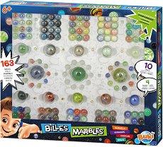 Стъклени топчета - Комплект от 163 броя -