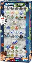 Стъклени топчета - Комплект от 56 броя -