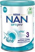 Висококачествена обогатена млечна напитка за малки деца - Nestle NAN OPTIPRO 3 HM-O -