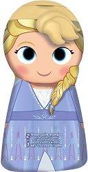 """Frozen 2 Shower Gel & Shampoo 2D - Elsa - Детски душ гел и шампоан 2 в 1 oт серията """"Замръзналото кралство"""" -"""
