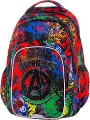 Ученическа раница с LED светлини - Spark L: Avengers -