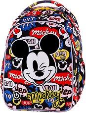 Ученическа раница с LED светлини - Joy S: Mickey Mouse - кукла