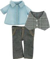 """Костюм - Хипстър - Комплект дрехи за плюшени играчки от серията """"Lucky Doggy"""" -"""