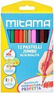 Цветни моливи - Jumbo - Комплект от 12 цвята
