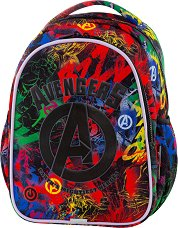 Ученическа раница с LED светлини - Joy S: Avengers -