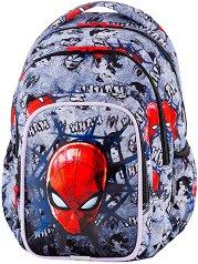 Ученическа раница  - Spark L: Spiderman Black - несесер