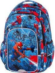 Ученическа раница  - Spark L: Spiderman Denim - продукт