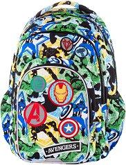 Ученическа раница  - Spark L: Avengers Badges - несесер