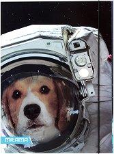 Папка с ластик - Куче космонавт