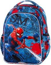 Ученическа раница - Joy S: Spiderman Denim - продукт
