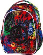 Ученическа раница - Joy S: Avengers - фигури