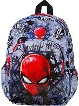Раница за детска градина - Toby: Spiderman Black - продукт