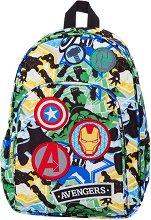 Раница за детска градина - Toby: Avengers Badges - раница