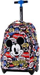 Ученическа раница с колелца - Jack: Mickey Mouse -