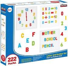 Букви и цифри - Образователна играчка -