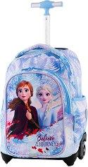 Ученическа раница с колелца - Jack: Frozen Light -