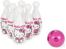 """Комплект за боулинг - Hello Kitty - Детска играчка от серията """"Hello Kitty"""" -"""
