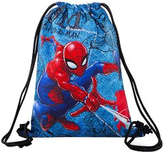 Спортна торба - Sprint: Spiderman Denim - несесер