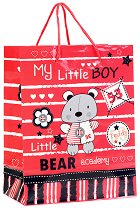 Торбичка за подарък - My Little Boy  - Размери 17.5 x 23 cm -