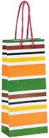 Торбичка за подарък - Райета - Размери 10 x 22 cm -