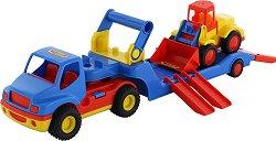 Влекач с багер - Детска играчка -