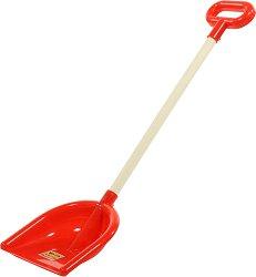 Голяма права лопата - Детска играчка с височина 71 cm -