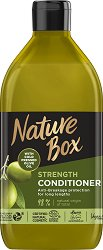 Nature Box Olive Oil Strength Conditioner - Натурален балсам против накъсване за дълга коса с масло от маслина - спирала
