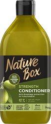Nature Box Olive Oil Strength Conditioner - Натурален балсам против накъсване за дълга коса с масло от маслина - масло