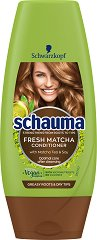 Schauma Fresh Matcha Conditioner - Балсам за коса с мазни корени и сухи краища -