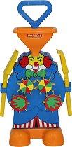 Мелница за пясък - Клоун - Детски комплект за игра -
