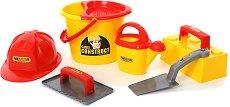 Комплект за игра с пясък - Строителни инструменти - играчка