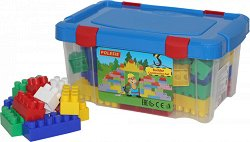 Детски конструктор - Малкият строител - играчка