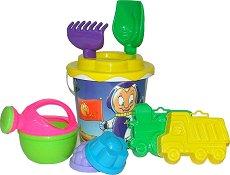 Плажен комплект за пясък - Детски комплект за игра -