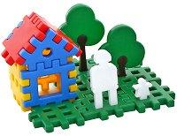 Конструктор в кутия - Лунапарк - Детски комплект за игра - играчка