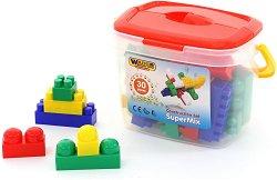 Конструктор в кутия - Super Mix - Детски комплект за игра - играчка