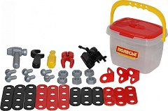 Комплект инструменти в кутия - Детски комплект за игра - играчка