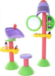 Музикален фризьорски салон - Детски комплект с аксесоари -
